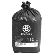 Garbage bag 110 L superior quality Bruneau - box of 100