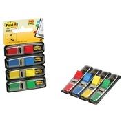 Post-it Index Smal, ft 12 x 43 mm, blister avec 4 couleurs, 35 cavaliers par couleur, 4 + 2 gratuit