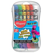 Maped gouache Color'Peps, 12 ml, 12 tubes en étui plastique
