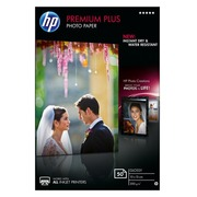 HP Premium Plus Photo Paper - fotopapier - 50 vel(len) - 100 x 150 mm - 300 g/m²