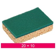 Pack 20 scraping sponges + 10 for free