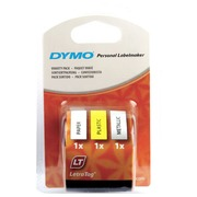 DYMO LetraTAG - label tape kit - 3 roll(s) - Roll (1.2 cm x 4 m)