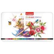 Crayons de couleur Bruynzeel Expression Colour boîte de 72 pièces assorti