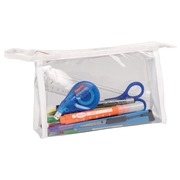 Exacompta trousse transparente, rectangulaire