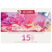 Talens Art Creation papier aquarelle 290 g/m² ft A4, bloc de 15 feuilles