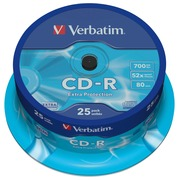 Verbatim CD-R Extra Protection - CD-R x 25 - 700 MB - storage media