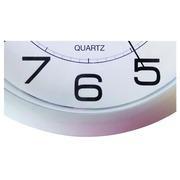 Horloge murale Unilux Attraction Ø20cm gris clair