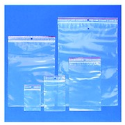 Sachet d'emballage zip refermable 50µ. 80x120mm 100 pièces