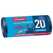 Sac poubelle 20 litres avec poignées Alfapac - 40 sacs