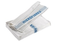 Pack of 10 wafeled microfibre mops