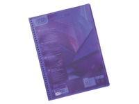 Non-transparent document protectors Le Lutin classic Elba assortment 20 sleeves