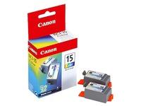 Pack van 2 cartridges Canon BCI-15 C kleur