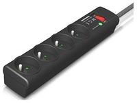 Stopcontactenblok met beveiliging Eaton PSA FR