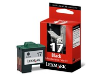 Cartridge Lexmark 17 zwart