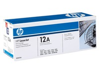 Lasercartridge zwart HP Q2612A