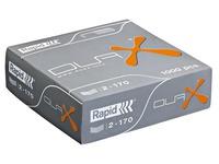 Box von 1000 Heftklammern Rapid Duax