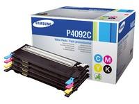 Pak 4 toners laser Samsung CLT-P4092C zwart + kleuren