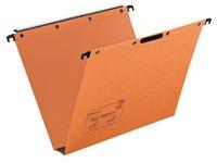 Hängemappe für Schubladen 33 cm Boden 30 mm aus oranger Wellpappe