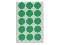 Adhesive labels Ø 19 mm Agipa 11196 colours - Pack of 90