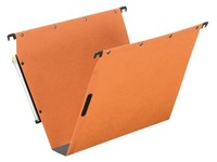 Suspension file for cabinets 33 cm AZL velcro, bottom 50mm, orange