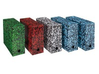 Tradition storage box, back 12 cm, assorted colours