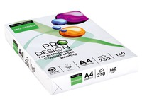 Paper A4 white 160 g Pro Design - Ream of 250 sheets