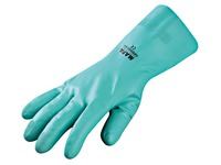 Synthetical gloves Optimo turquoise