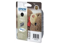 Cartridge Epson T0611 zwart