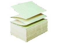 Papier listing standard Exacompta 1 exemplaire 60 g 380 x 280 mm - 2000 feuilles