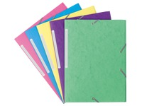 Sleeve JMB 3 folds 5/10th with assorted rubber band - trendy colours