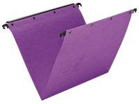 Gekleurde hangmappen Ultimate L'Oblique kraftkarton voor in laden 33 cm normale bodem
