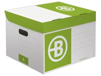 Mini Archivbox Bruneau H 27 x B 39 x T 36 cm aus farbiger Wellpappe