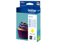 Cartridge Brother LC123 geel