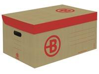 Archivboxen Bruneau H 27 x B 55 x T 36 cm braun
