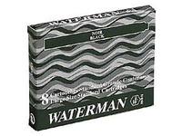 Cartouche d'encre longue pour stylos Waterman - Boîte de 8