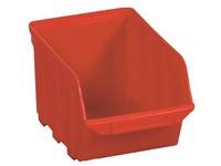 Economische stockeerbakjes Vico rood - 4 liter