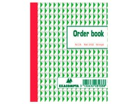 Standard auto-copying order books 135 x 105 mm 50-3