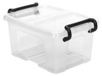 Aufbewahrungsbox 1,7 L Strata transparentes Plastik
