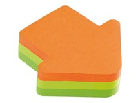 Bloc 225 sheets 3 colours Post It fantasy arrow 70 x 70 mm