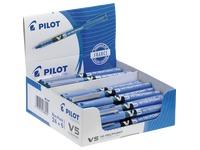 Pack de 24 stylos Pilot Hi-Tecpoint V5 bleus + 6 offerts
