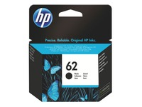 Cartridge HP 62 zwart voor inkjetprinter