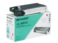 AL100TD SHARP AL1000 CARTRIDGE BLACK (2330354)