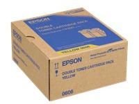C13S050606 EPSON ALC9300N TONER (2) YEL