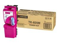 TK820M KYOCERA FSC8100DN TONER MAGENTA (120033440176)
