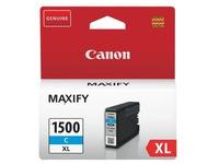 Canon PGI1500XL cartouche haute capacité cyan pour imprimante jet d'encre