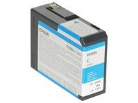 Epson T5802 - cyaan - origineel - inktcartridge (C13T580200)
