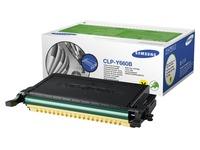 Samsung CLP-Y660B - geel - origineel - tonercartridge (CLP-Y660B/ELS)