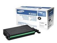 Samsung CLT-K5082L - hoog rendement - zwart - origineel - tonercartridge (CLT-K5082L/ELS)