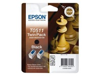 Epson T0511 - 2 - zwart - origineel - inktcartridge (C13T05114210)