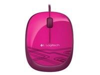 Logitech M105 - muis - USB - rood